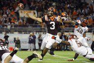 Virginia Tech edges Rutgers in Russell Athletic Bowl (AP Photo/Brian Blanco)
