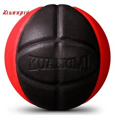 37.99$  Buy here - Kuangmi Basketball 2017 NEW Product Release PU leather game training Basketball Ball Indoor Outdoor size 7 with basketball net   #bestbuy