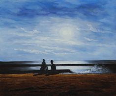 Winslow Homer - Moonlight - overstockArt.com