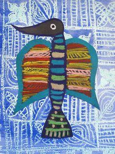 a faithful attempt: Adire Style Wax Batik