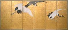 Cranes: Maruyama Okyo 1870