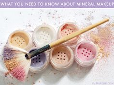 the ultimate mineral makeup cheat sheet #beauty