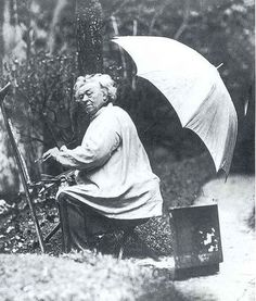 Photo - Jean-baptiste Camille Corot  <3 One of my favorite painters! paysage à plein air ! <3
