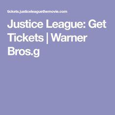 Justice League: Get Tickets | Warner Bros.g