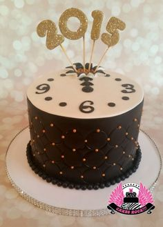 Happy New Year 2015 Cake
