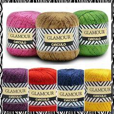 Lançamento fio Glamour: 19 cores à disposição.  Leve e delicado, o fio é mesclado em tons metálicos. Ideal para técnicas de crochê e tricô. Encontre no www.armarinhosaojose.com.br @circuloprodutos  #artesanato #croche #trico #circulo #artemanual #armarinhos #saojosearmarinho #glamour