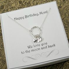 Birthday Gifts for Mom! Personalized Mother #Necklace by StarringYouJewelry