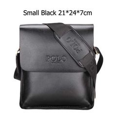 Luxury Brand Men Bag Letter Printed Leather Messenger Bag Retro Designer  Handbag Small Business Briefcase Crossbody Bags For Men 9d1f4fe7cd691