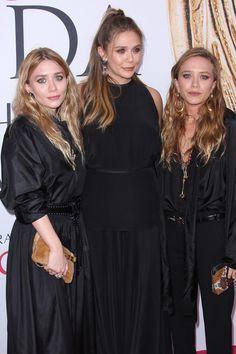 Ashley Olsen, Elizabeth Olsen and Mary-Kate Olsen.