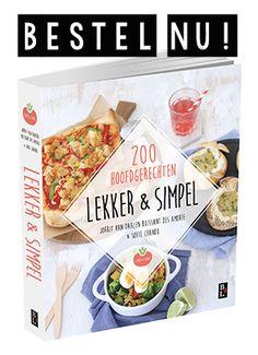 Lunch wrap tips - Lekker en Simpel Nutella, Lunch Wraps, Homemade Muesli, High Tea, Love Food, Feta, Tapas, Oven, Easy Meals