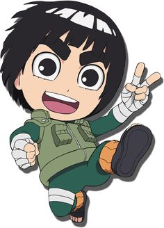Chibi Rock Lee! I love this character