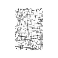 Crossed Lines 3 ready-made screen - Thermofax Screens (€12) ❤ liked on Polyvore featuring backgrounds, fillers, doodles, textures, effects, patterns, text, wallpaper, quotes and scribbles