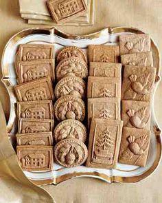 シュペキュラス、あるいはシュプリンゲレと呼ばれる浮き彫り模様が美しいクッキー。これもドイツのクリスマスには欠かせないお菓子のひとつです。  この浮き彫り模様は・・・