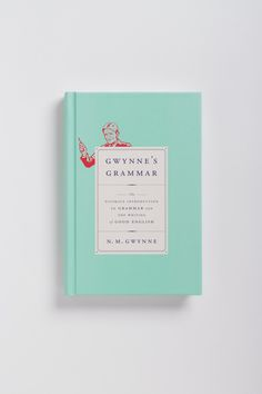 Gwynne's Grammar cover design by Oliver Munday (Knopf / 2014)