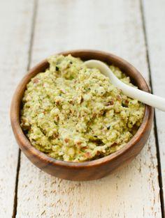 Zucchini Almond Dip - Vegan and Raw