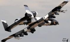 A-10 Warthog. Love the camouflage paint job.