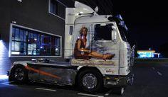 Marylin Monroe Scania 143-500 Streamline #heavyhauling
