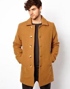 Image 1 ofAmerican Apparel Wool Overcoat