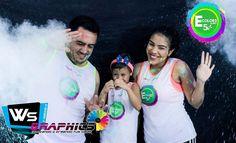 Ecolors 5k es patrocinado por Ws Graphics 20 de noviembre! 2:00pm Caminata colorida totalmente gratis. @wsgraphicscm  #Run #Follow #Venezuela #Rubio #Running #marketing