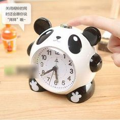 Buy 'Lazy Corner – Panda Desk Clock' at YesStyle.com plus more China items and get Free International Shipping on qualifying orders.