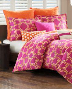 Echo Catalina Mini Duvet Cover Sets - Duvet Covers - Bed & Bath - Macy's