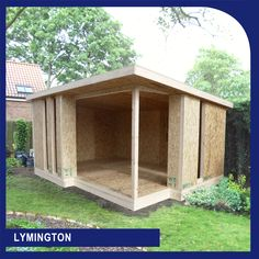 SIP Garden Building and Annex Flat Pack Kits