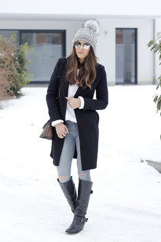 Easy Winter Style & Fashion Frenzy Linkup - Seeking Sunshine