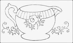 Hudson's Holidays - Designer Shirley Hudson: Tea creamer freebie Friday!