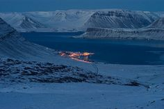 Panoramio - Photo of Bildudalur and Arnarfjordur