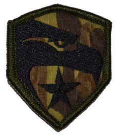 Tactical Gear Junkie - G.I. JOE Symbol Shield - Military Morale Patch, $3.99 (http://www.tacticalgearjunkie.com/g-i-joe-symbol-shield-military-morale-velcro-patch/)