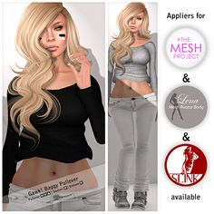 Gawk! Baggy Pullover - Mesh Body Appliers | Flickr - Photo Sharing!