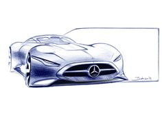 Image result for bugatti vision gt sketch
