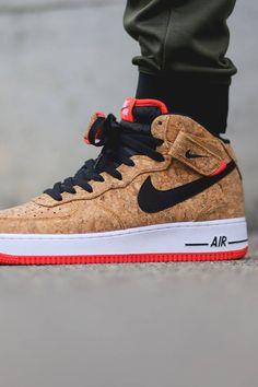 AF1 Mid #cork #sneakers #nike