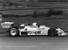 René Arnoux - Martini Mk22 Renault/Gordini - Écurie Renault Elf - XVIII Grand Prix de Nogaro 1977