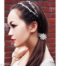 Haarreif-Haarband-Stirnband-Blumen-silber-perlmutt-Haarschmuck