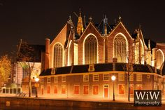 The 800-year-old #Oude_Kerk is #Amsterdam's oldest building and oldest parish church, founded ca. 1213 and consecrated in 1306..