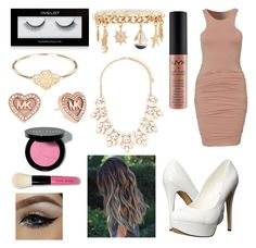 """""""Untitled #138"""" by tumblrsaved2 on Polyvore featuring NYX, Forever 21, Inglot, Grace Lee Designs, Michael Antonio, Michael Kors, Bobbi Brown Cosmetics, women's clothing, women and female"""
