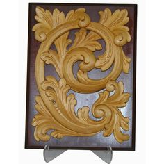 Norwegian Rosemaling style carving / Acanthus style....   Rogaland.  No wonder I LOVE this style... it's Norwegian!!!  I WANT some of these!!!!