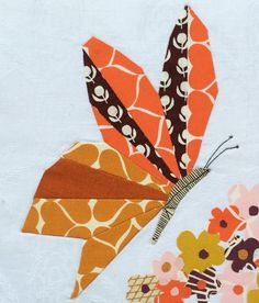 Looking for your next project? You're going to love EPP Butterfly #7 by designer Mudpiesandpins.
