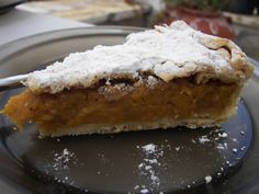Great recipe for Sweet pumpkin pie. Very tasty and easy pie. Recipe by Sitronella Cookie Dough Pie, Cookie Crust, Middle Eastern Desserts, Greek Desserts, Greek Recipes, Homemade Pumpkin Puree, Oat Cookies, Easy Pie, Sugar Cake
