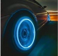 Buy Auto Accessories Car Supplies Bike Supplies Neon Blue Strobe LED Tire Valve Caps at Wish - Shopping Made Fun Honda Fit, Neon Azul, Car Supplies, Volkswagen New Beetle, Car Led Lights, Pt Cruiser, Lumiere Led, Car Gadgets, Luz Led