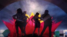 2NE1 - I LOVE YOU M/V...........This song really Pops and these ladies are fierce and fabulous!! I mean, did you see those clothes! And those gold spiked boot's are super gorgeous! So is their make-up!  I heard this song on Spotify and It's my first girl group favorite. I plan to listen to more female K-Pop in the future:)