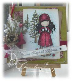 Gorjuss Christmas Card