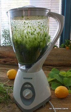 Blog o gotowaniu - tradycyjna kuchnia: Syrop miętowy Up Halloween, Pesto, Kitchen Appliances, Cooking, How To Make, Blog, Karma, Astronomy, Diet