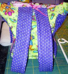 Luelle's school bag (back)