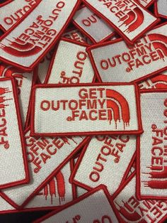 A patch that you can pin on whenever someone you don't like gets too close.