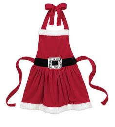 Christmas Mrs. Clause Apron - Ganz Multi Purpose Christmas Santa Apron (Childs Size) by apron-santa-ex19434-19b-cup80, http://www.amazon.com/gp/product/B008UX2LMO/ref=cm_sw_r_pi_alp_RJhPqb1H32T1V