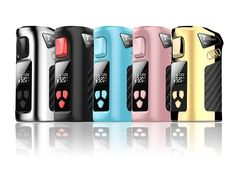 Vaping just got easier. The palm size Target Mini Vape Mod is convenient, customisable, and boasts functions such as temperature range control and safety locks.