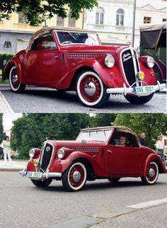 Škoda 912 Popular 1937 Retro Cars, Vintage Cars, Antique Cars, Vintage Ideas, Candy Car, Volkswagen Group, Mini Trucks, Jeep Cars, Old Cars