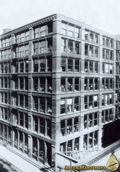 LE BARON JENNEY. Leiter Building (Chicago). 1879.